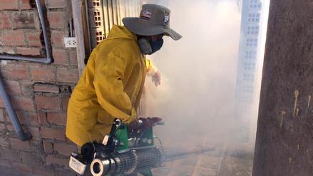 Chiclayo: continúa fumigación contra el dengue en La Victoria y José Leonardo Ortiz