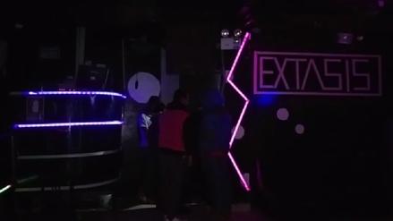 Intervienen a seis menores al interior de discoteca clandestina