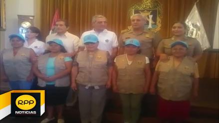 Trujillo: presentan a  brigadistas para luchar contra la violencia familiar