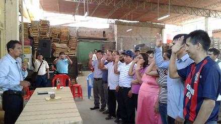 Comerciantes de Moshoqueque reactivan frente de defensa y desarrollo