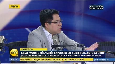 """Abogado de Humala sobre testigo: """"No tiene credibilidad"""""""