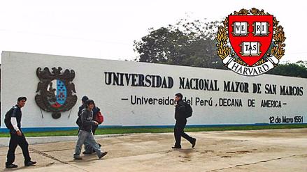 Harvard apoyará a la Universidad San Marcos a desarrollar investigaciones