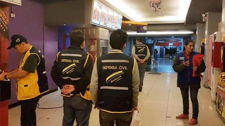 Techo de cine del centro de Lima se cayó en plena función