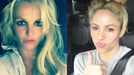 Britney Spears ignora a Shakira en el Instagram