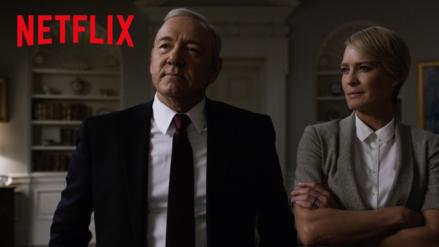 YouTube: Netflix estrenó nuevo tráiler de House of Cards