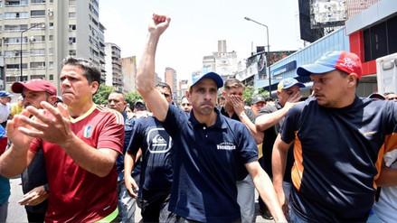 Henrique Capriles invoca a