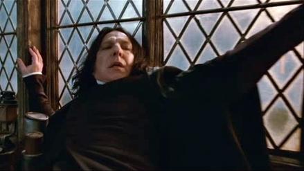 J.K. Rowling se disculpa por la muerte de 'Snape'