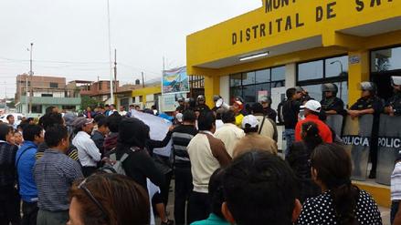 Santa Rosa: Pobladores protestan por vacancia de alcalde