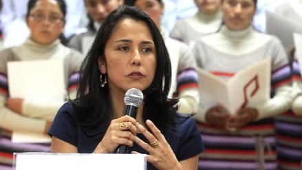Nadine Heredia responsabilizó a Alan García por interceptaciones a Humala
