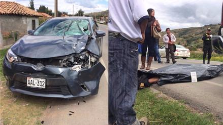 Jauja: hombre muere atropellado en la Carretera Central