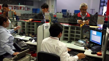 Crecimiento de créditos en Perú uno de los más bajos entre emergentes