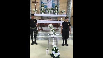 Huarmey: dan cristiana sepultura a no nato encontrado en parque