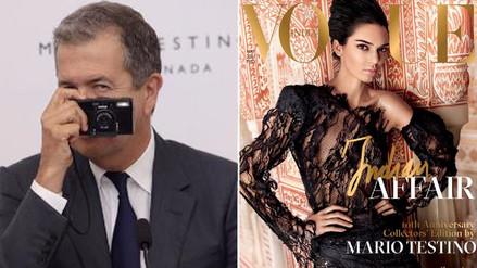 Fotos | Kendall Jenner vuelve a posar para Mario Testino