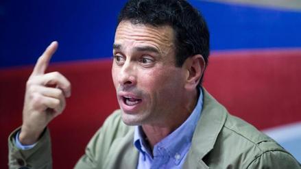 """Capriles: """"Maduro busca evitar las elecciones con la Constituyente"""""""