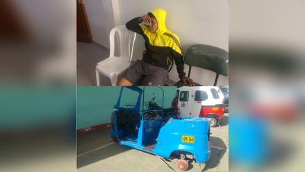 Cajamarca: policía detiene a acusado de desmantelar mototaxi