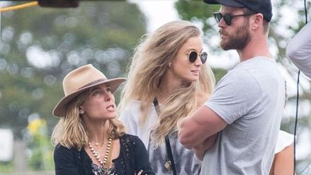 Fuerte pelea entre Elsa Pataky y Chris Hemsworth