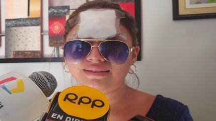 Familiares de joven agredida piden ayuda a ministra de la Mujer