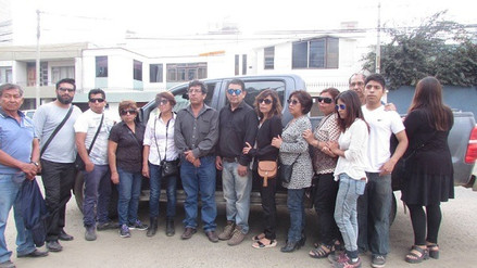 Virú: familiares de ancianos asesinados llegan a Trujillo