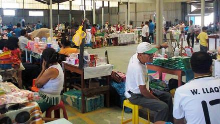 Ambulantes fueron reubicados al Mercado del Pueblo de Chiclayo