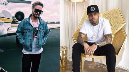 J Balvin y Nicky Jam bromean con el 'Despacito' de Justin Bieber