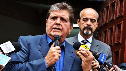 Alan García sobre acusaciones: