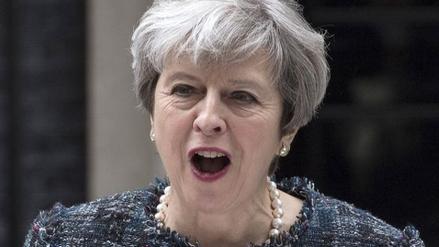 May exige a la Unión Europea no influir en las elecciones británicas
