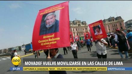 Fiscalía abre investigación por delito de apología al terrorismo al Movadef