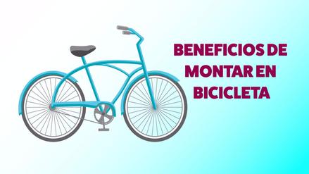 Infografía | Conoce los beneficios de montar en bicicleta