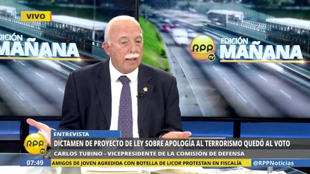 "Tubino sobre interpelación a Basombrío: ""Tenemos que actuar con prudencia"""