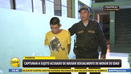 Capturan a sujeto acusado de abusar sexualmente de menor de edad en Chosica
