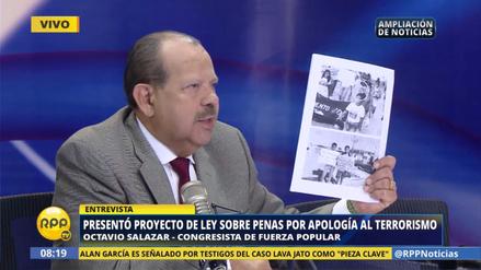 """Octavio Salazar sobre las marchas del Movadef: """"Están utilizando también a niños"""""""