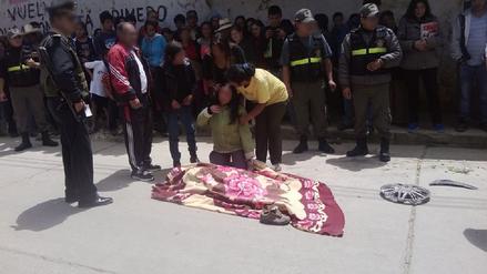 Chota: escolar murió al estrellarse en su motocicleta contra un muro
