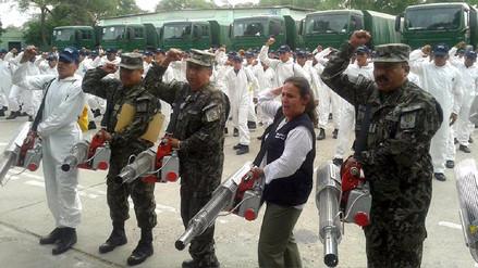 Sector Salud y el Ejército se unen en la lucha contra el dengue en Piura