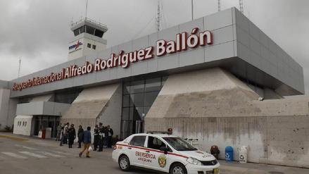 Aeropuerto de Arequipa no tiene licencia de funcionamiento
