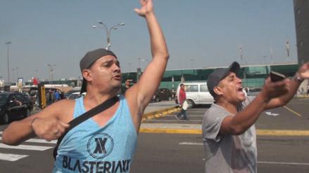 Hinchas de Sporting Cristal insultaron al plantel por el 5-1 en La Paz