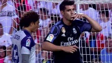 Álvaro Morata marca un doblete en el duelo ante el Granada
