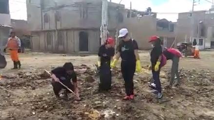 Limpian alrededores de principales sitios turísticos de Lambayeque