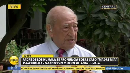 """Isaac Humala: """"Ollanta ya está inhabilitado por su mal gobierno"""""""
