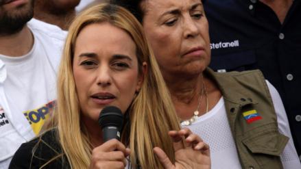 Lilian Tintori confirmó el buen estado de salud de su esposo Leopoldo López
