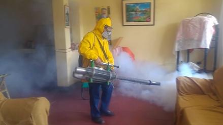 Chiclayo: fumigan más de 5 mil casas para prevenir el dengue