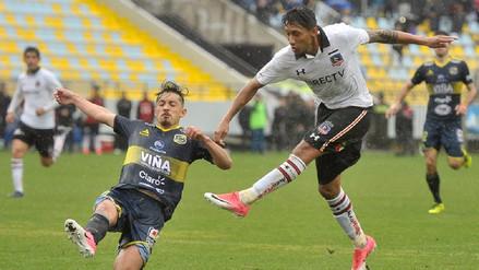 Christofer Gonzales anotó un agónico gol en la victoria del Colo Colo