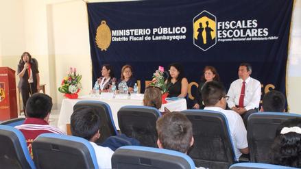 Ministerio Público inicia actividades del programa 'Fiscales Escolares'
