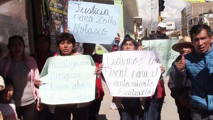 Familia exige investigación de tres desaparecidos en Pozuzo