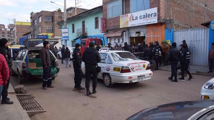 Retiran a más de 80 ambulantes de calles céntricas de Huancayo