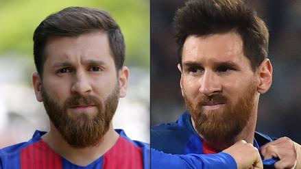 Imitador de Lionel Messi confesó que quiere ser su representante