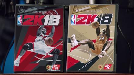 Shaquille O'Neal será la portada del videojuego NBA 2K18