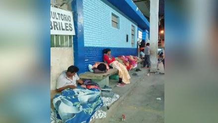 Piura: Hospitales colapsan y pacientes deben esperar en el suelo para ser atendidos