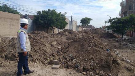 Chiclayo: supervisan obra de agua y desagüe en La Victoria