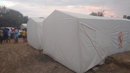 Damnificados de caserío 'El mirador' en Jayanca se quedaron sin alimentos
