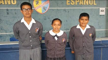 Niños ganan concurso internacional por tema de inclusión
